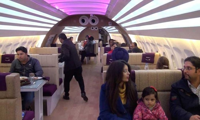 Chitral's Famous Plane Restaurant