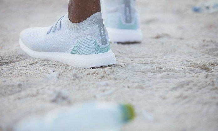 adidas using plastic to make shoes