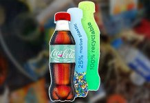 coca-cola ocean bottle
