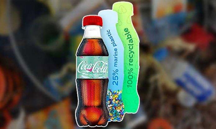 coca-cola ocean bottle