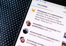 instagram activity log