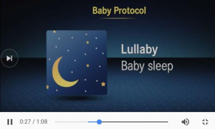 mercedes benz baby protocol