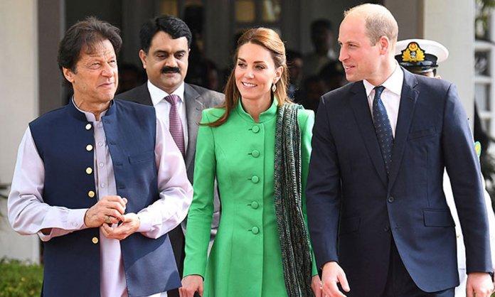 royal couple meet imran khan
