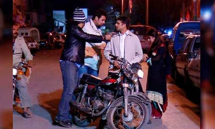 street crime karachi