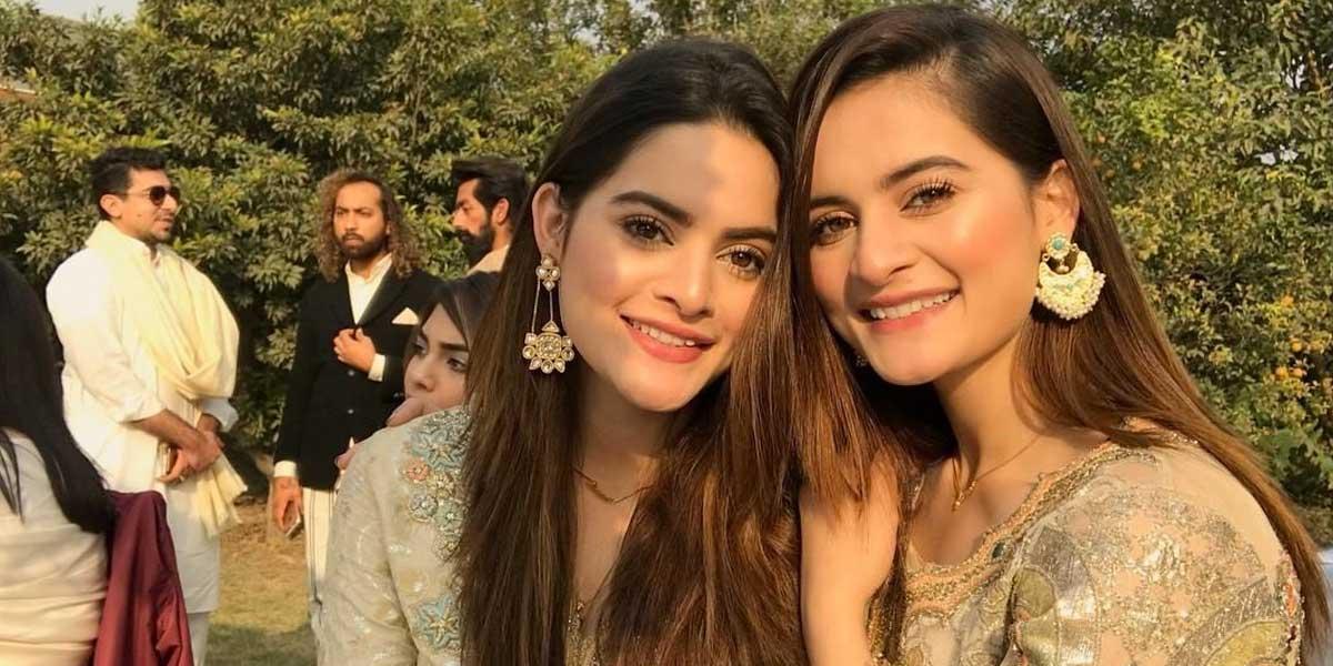 Aiman-and-Minal-Clothing Pakistani celebrities