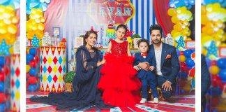 Ayeza and Danish's Family