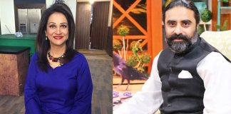 Bushra Ansari and Iqbal Hussain