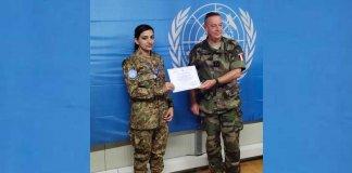 Maj Saima Rehman UN Peacekeeper