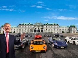 Trump Car Collection