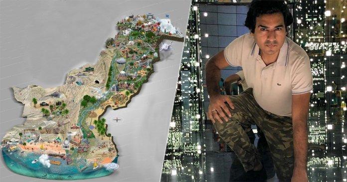 Assam Tourist Attraction Map