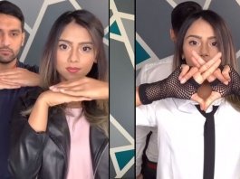 zaid ali t and yumna pubgm finger dance challenge