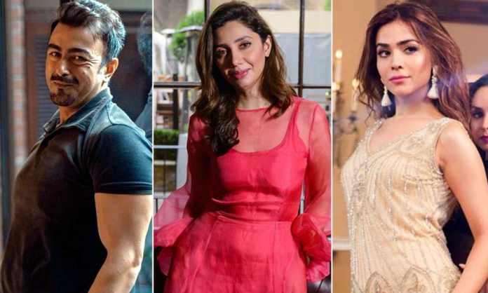 Celebrities Come in Support of Mahira