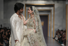 Feroz Khan and Hania Amir