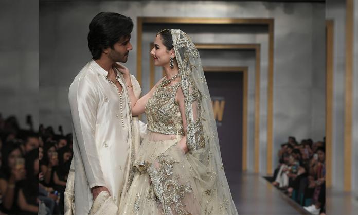 Feroz Khan and Hania Amir
