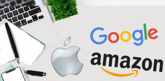 google apple amazon