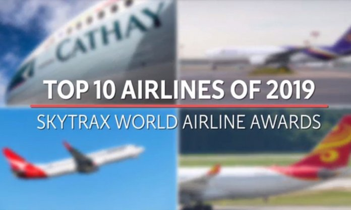 top 10 airlines 2019