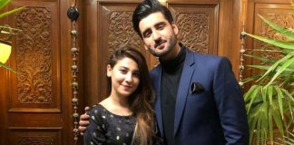 Agha Ali and Hina Altaf