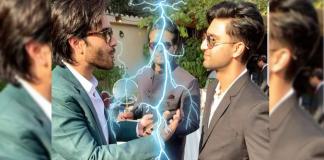Feroze Khan and Ahad Raza