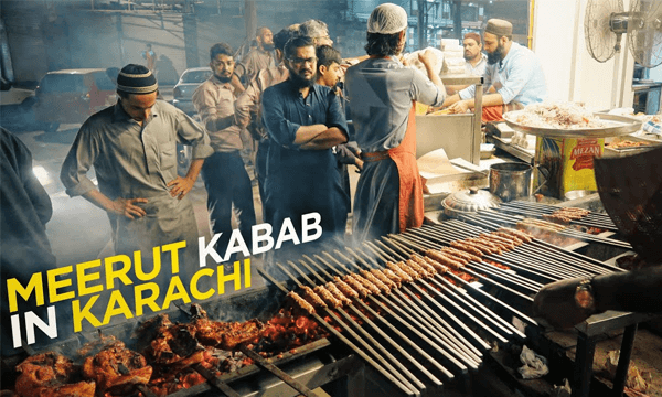 meerut kabab karachi
