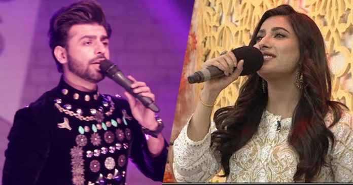 mehwish hayat and farhan saeed