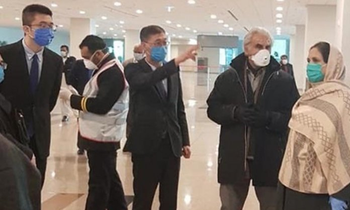 Chinese at Islamabad Airport