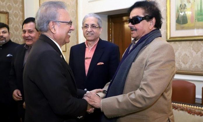 Shatrughan Sinha met Arif Alvi