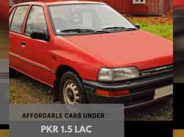 affordable cars under 1.5lacs