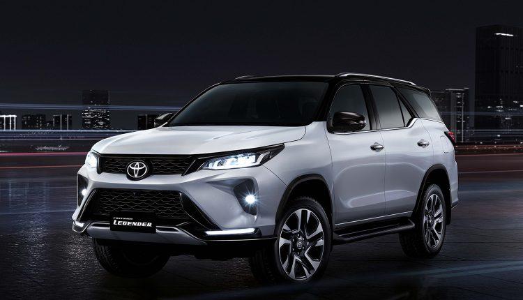 2021 Toyota Fortuner Facelft