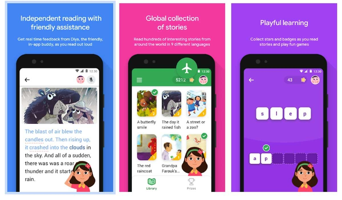 Google's Read-Along App