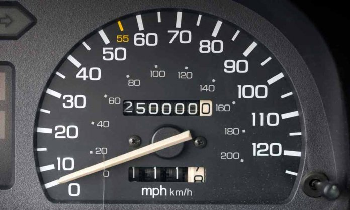 5 highest mileage cars