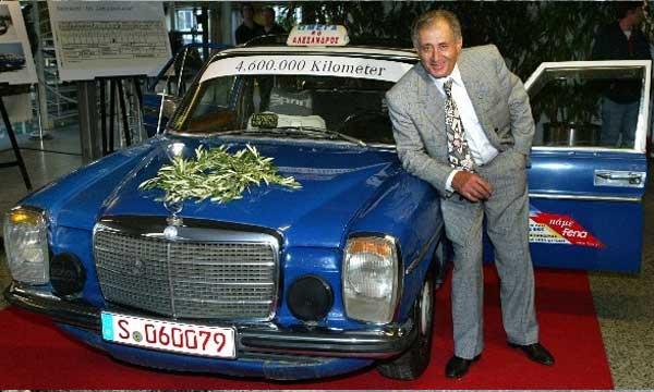 Gregorios Sachinidis' 1976 Mercedes 240D