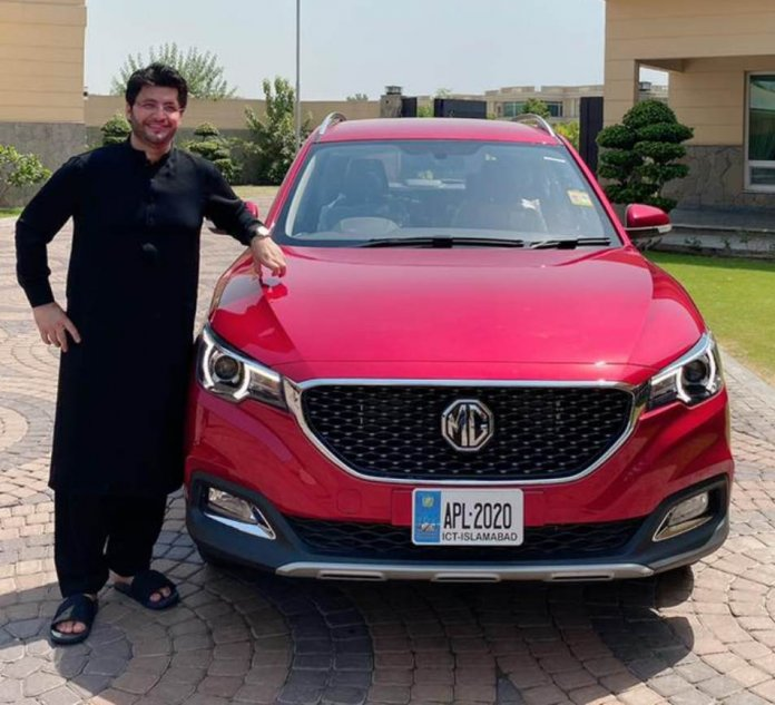 MG EV cars in Pakistan