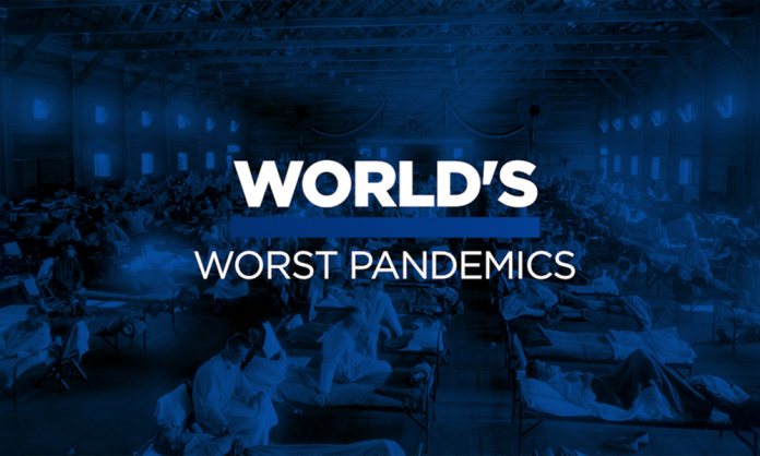 worst pandemics in history