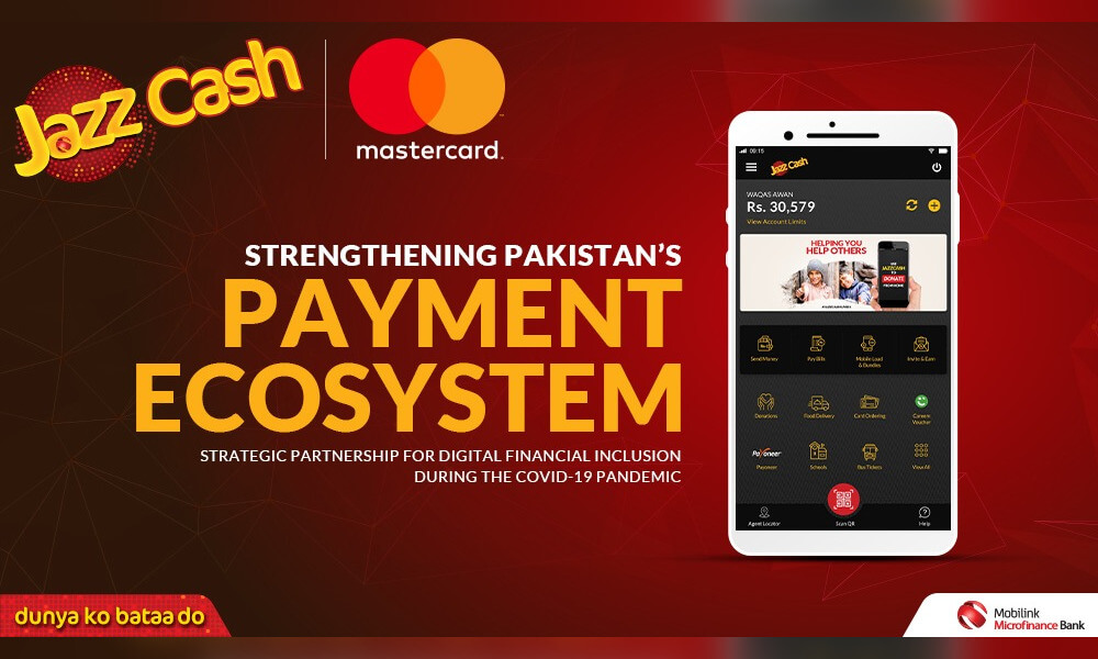 JazzCash Partners With Mastercard To Strengthens Pakistan's Payment Ecosystem