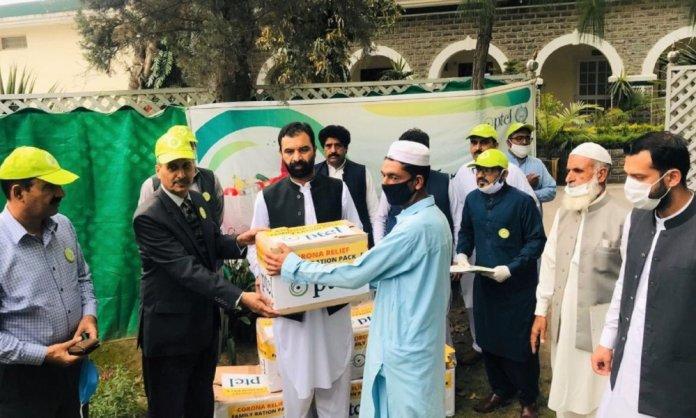 PTCL Ramazan Ration Drive