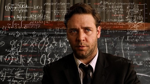 Nash shown in the movie