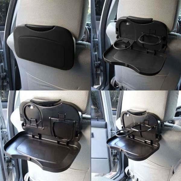 folding back seat table