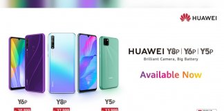 HUAWEI Y6p and HUAWEI Y8p