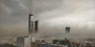 karachi dust storm