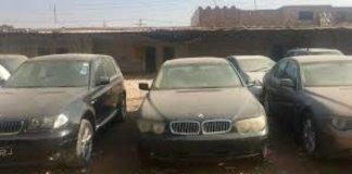 smuggled cars pakistan
