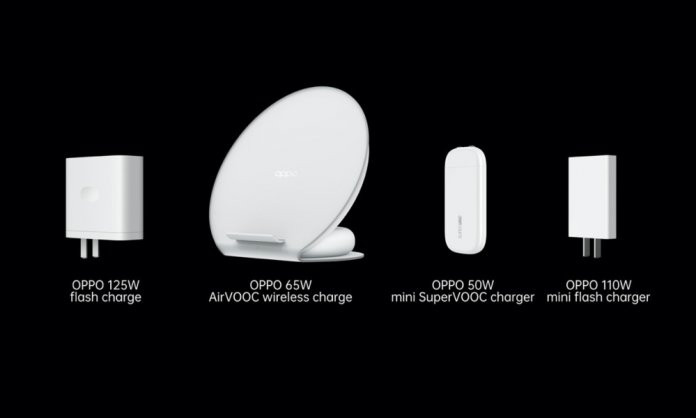 OPPO launches fast chargers