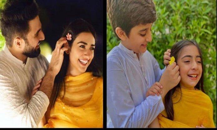 Falak and sara and the recreated photo