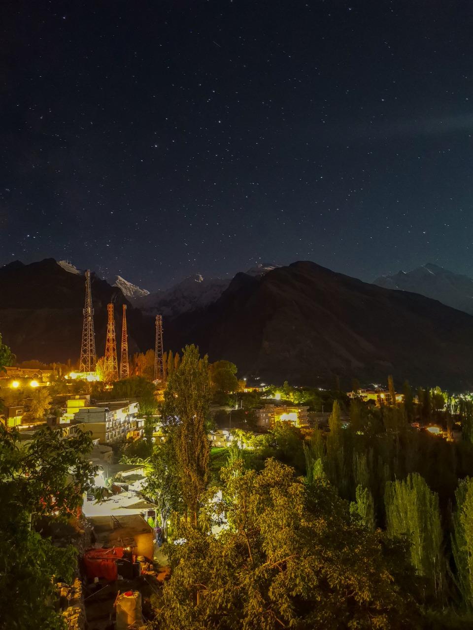 A Night in Hunza
