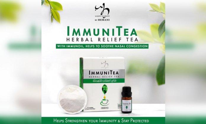 immunitea packet