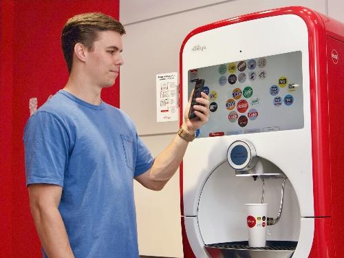 Coca cola freestyle machine