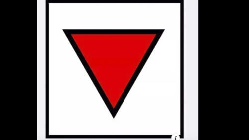 The symbol being used to target the Antifa group