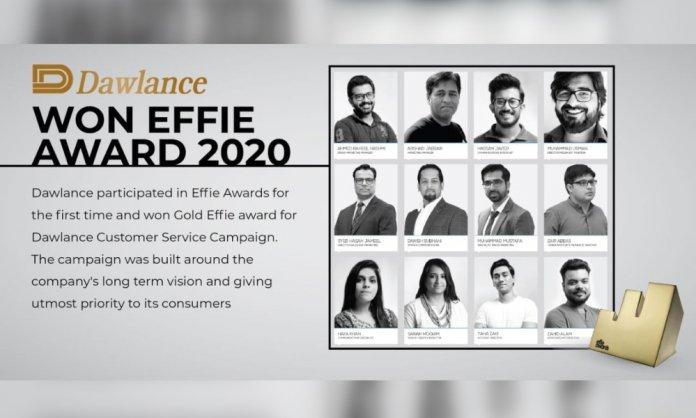 dawlance effie awards