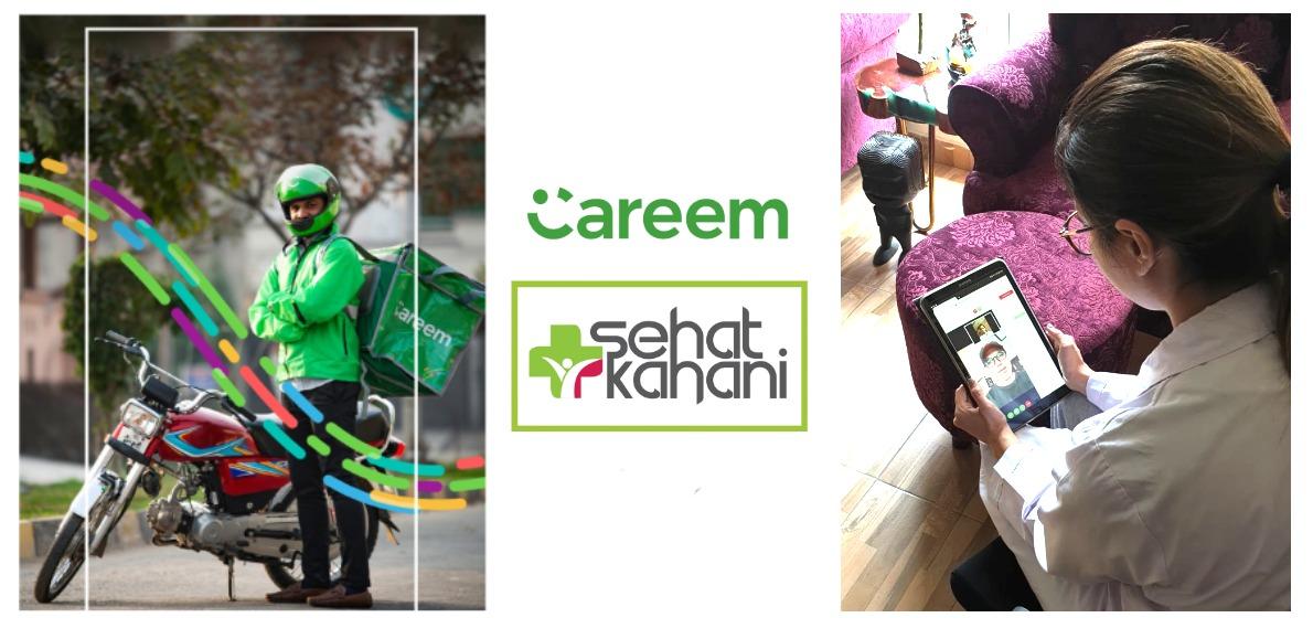 Careem & Sehat Kahani Partner Up