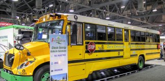 electric school bus by dominion