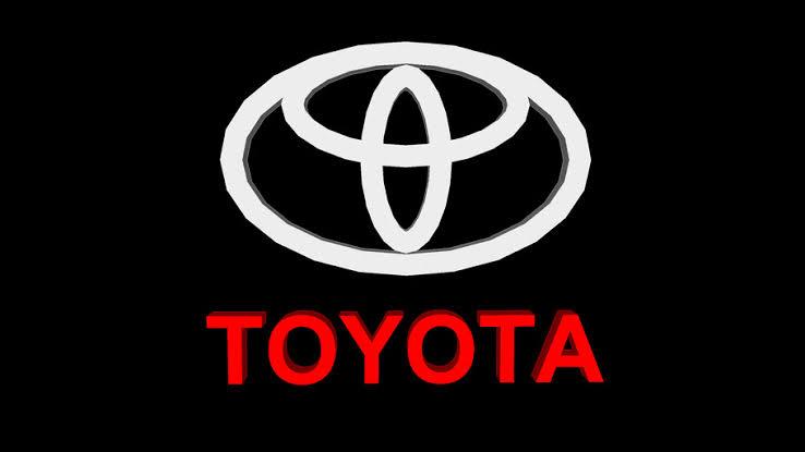 Old toyota logo